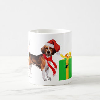 Beagle Christmas Coffee Mug