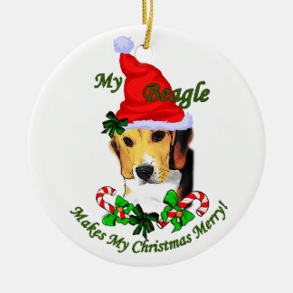 Beagle Christmas Gifts Ornament