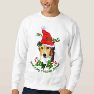 Beagle Christmas Gifts Sweatshirt
