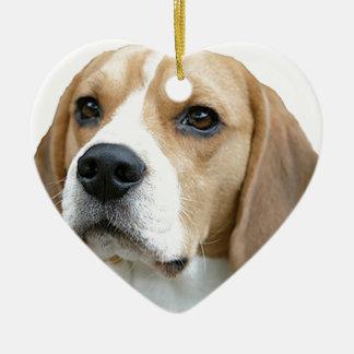 beagle christmas ornament