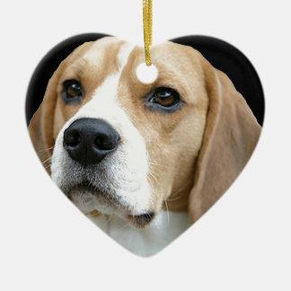 """Beagle"" Christmas Ornament"