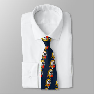 Beagle Cute Cartoon Tie