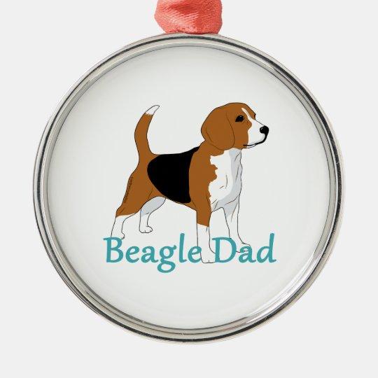 Beagle Dad Beagle Lovers Black Tan White Dog