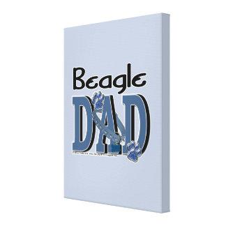 Beagle DAD Canvas Print