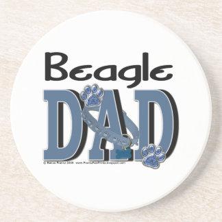 Beagle DAD Beverage Coaster