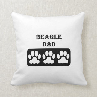Beagle Dad Cushion