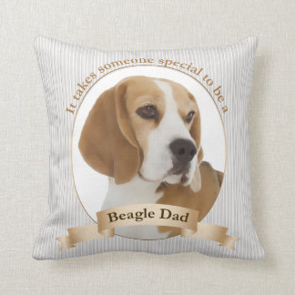 Beagle Dad Pillow