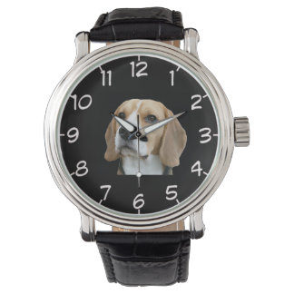 Beagle design wrist watch