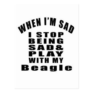 Beagle Designs Postcard