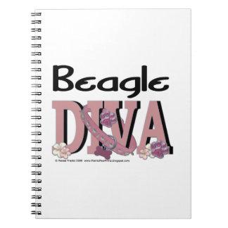 Beagle DIVA Spiral Note Book