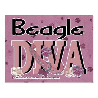 Beagle DIVA Post Cards