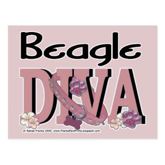 Beagle DIVA Postcards
