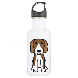 Beagle Dog Cartoon 532 Ml Water Bottle