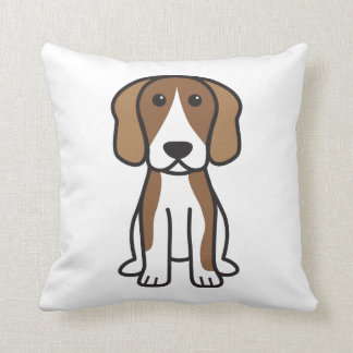 Beagle Dog Cartoon Cushion