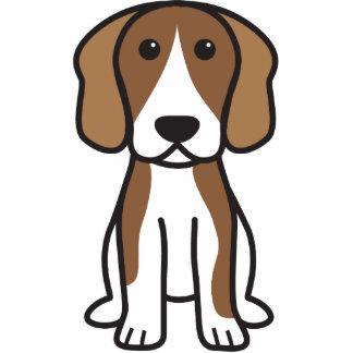 Beagle Dog Cartoon Standing Photo Sculpture