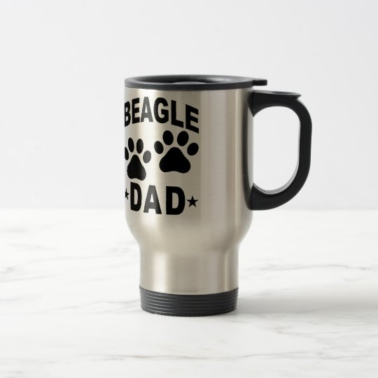 Beagle DOG DAD.png Travel Mug