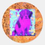 beagle dog drip sticker
