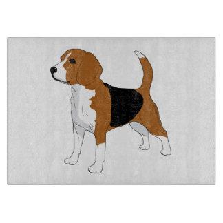 Beagle Dog Image Cutting Board