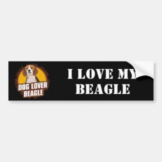 Beagle Dog Lover Bumper Sticker