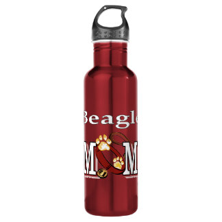 Beagle Dog Mom 710 Ml Water Bottle