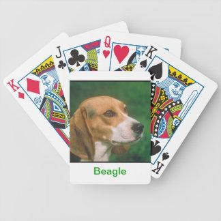 Beagle Dog Playing Cards