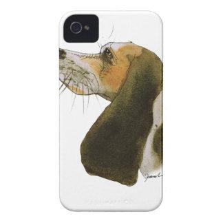 Beagle dog, tony fernandes iPhone 4 Case-Mate cases