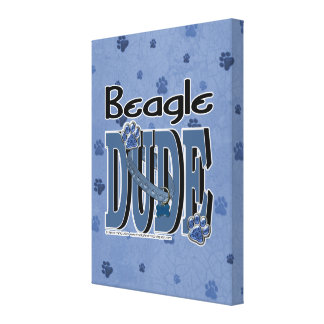 Beagle DUDE Canvas Prints