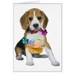 Beagle Easter Cards