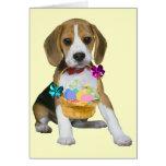 Beagle Easter - Customised Card