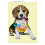 Beagle Easter - Customised Note Card