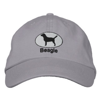 Beagle Embroidered Hat