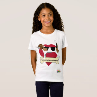 Beagle Girl's Jersey T Shirt