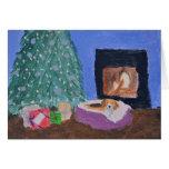 Beagle Holiday Card