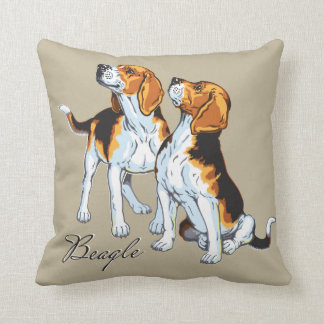 beagle hound cushion