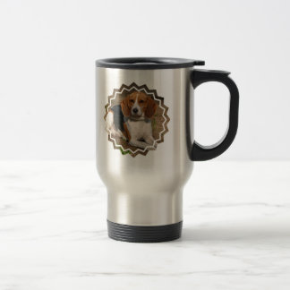 Beagle Hound Stainless Travel Mug