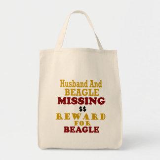 Beagle Husband Missing Reward For Beagle Bags