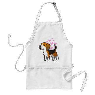 Beagle Love Standard Apron