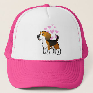 Beagle Love Trucker Hat