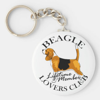 Beagle Lovers Club Key Ring