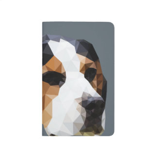 Beagle Low Poly Art Journal