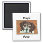 Beagle Magnet for Pet lovers and owners