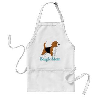 Beagle Mom 2 Standard Apron
