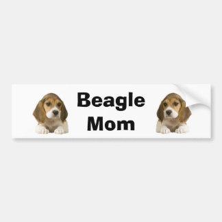 Beagle Mom Bumper Sticker