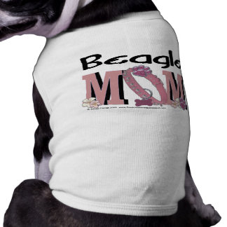 Beagle MOM Doggie T-shirt