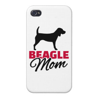Beagle Mom Cover For iPhone 4