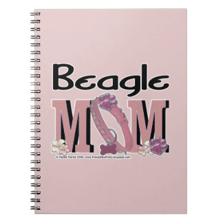 Beagle MOM Note Book