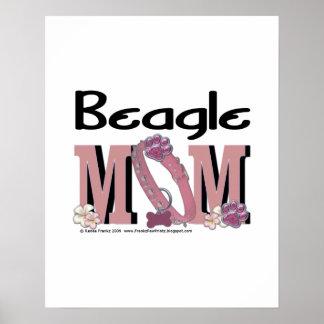Beagle MOM Print