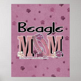 Beagle MOM Posters