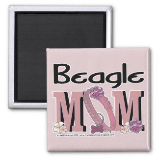 Beagle MOM Refrigerator Magnet