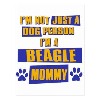 Beagle Mommy Postcard